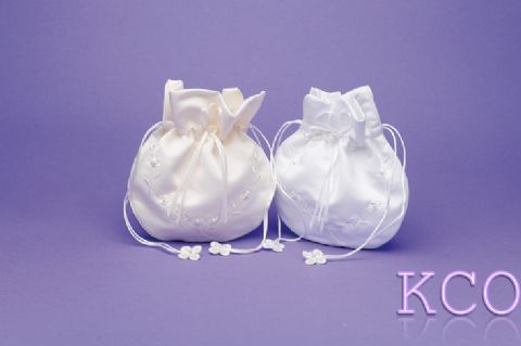 Dolly Bag Style M6027 White~ Special Occasion